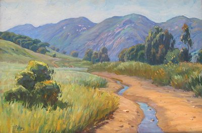 "California Artists:<BR>Tim Solliday - ""California Landscape"""