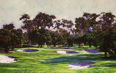 "Brad Faegre:<BR> ""San Diego Country Club Hole 7"""